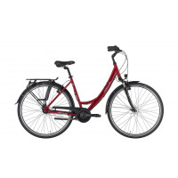 Hercules Stadsfiets Valencia R7 dames donker rood 43cm H. VALENCIA R7 D43 N7 ROOD