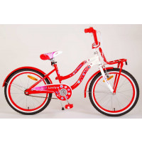 """Volare Kinderfiets Lovely 20""""  Rood/Wit VOLARE LOVELY 20""""  ROOD / WIT"""
