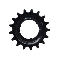 KMC Tandwiel Achter Shimano 17T CRO-MO Staal Zwart 3/32 KMC TANDWIEL A SHIMANO 17T ZW 3/32