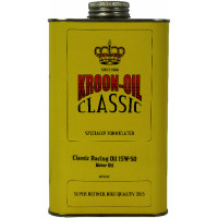 Kroon-Oil Motorolie Classic Racing Oil 15W-50 KROON-OIL CLASSIC RACING 15W50 1LTR