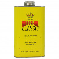 Kroon-Oil Transmissieolie Classic Gear EP 80 KROON-OIL CLASSIC GEAR EP80 1LITER