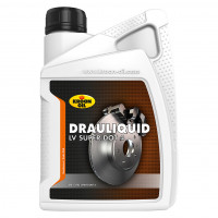 Kroon-Oil Remvloeistof Drauliquid LV Super DOT 4 KROON-OIL DRAULIQUID LV DOT 4 1LTR