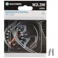 Halfords Autolampen W2.3W T5 RICHTINGAANW./INTERIEUR W2.3W (H284