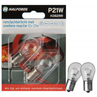 Halfords Autolampen P21W Rapid Response RICHTINGAANW./REMLICHT P21WRR (H382