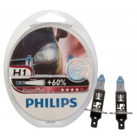 Philips Lampenset Visionplus H1 LAMP PH VISION PLUS H1 SET