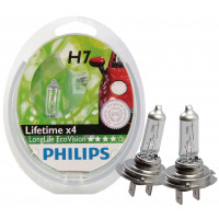 Philips Lampenset Ecovision H7 LAMP PH LONGLIFE ECOVISION H7 SET
