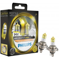 Philips Autolampen Colorvision H4 Geel PHILIPS COLORVISION H4 GEEL