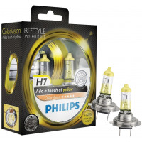 Philips Autolampen Colorvision H7 Geel PHILIPS COLORVISION H7 GEEL