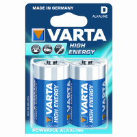 Varta Batterijen High Energy D VARTA HIGH ENERGY D