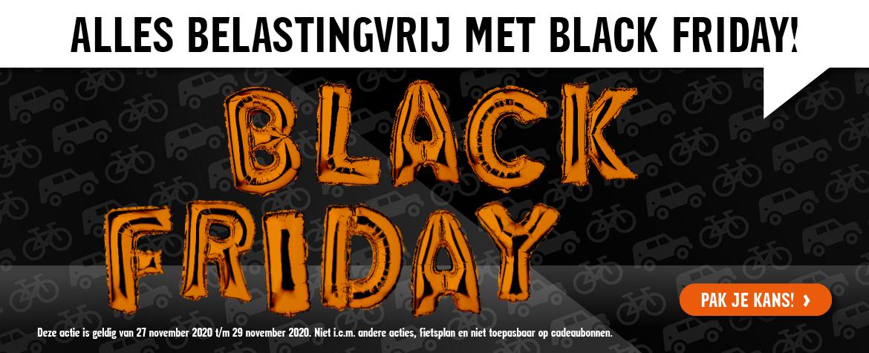 Black Friday Halfords, alles BTW vrij